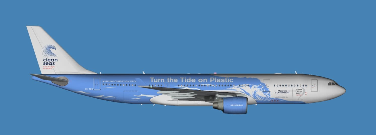 Airbus A330-200 Turn the tide on plastic